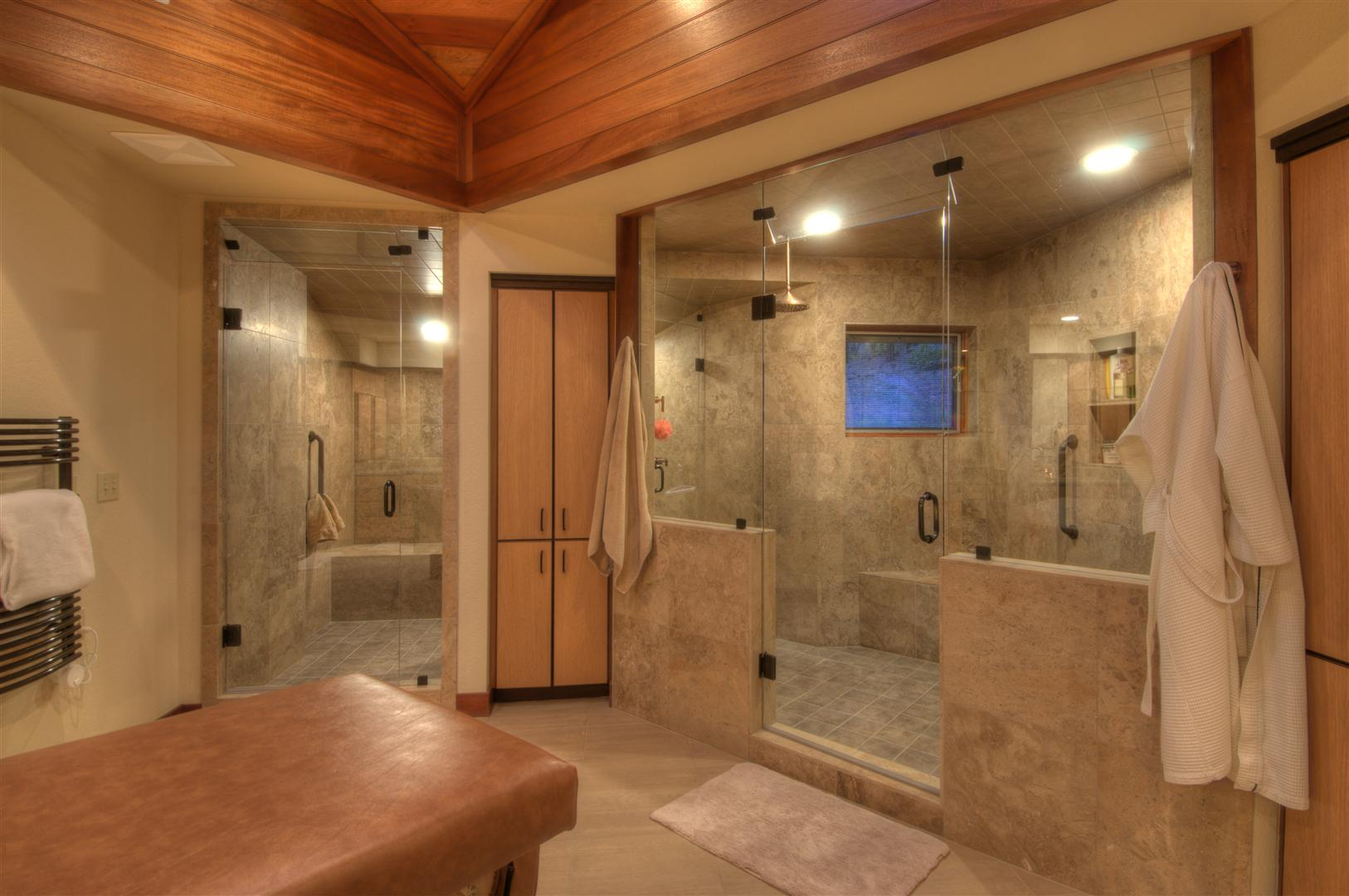 Bathroom Ideas Large Shower big bathroom designs - creditrestore