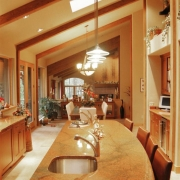 Contemporary Kitchen - Cherry 1