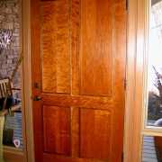 custom-entry door