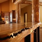 log-countertop