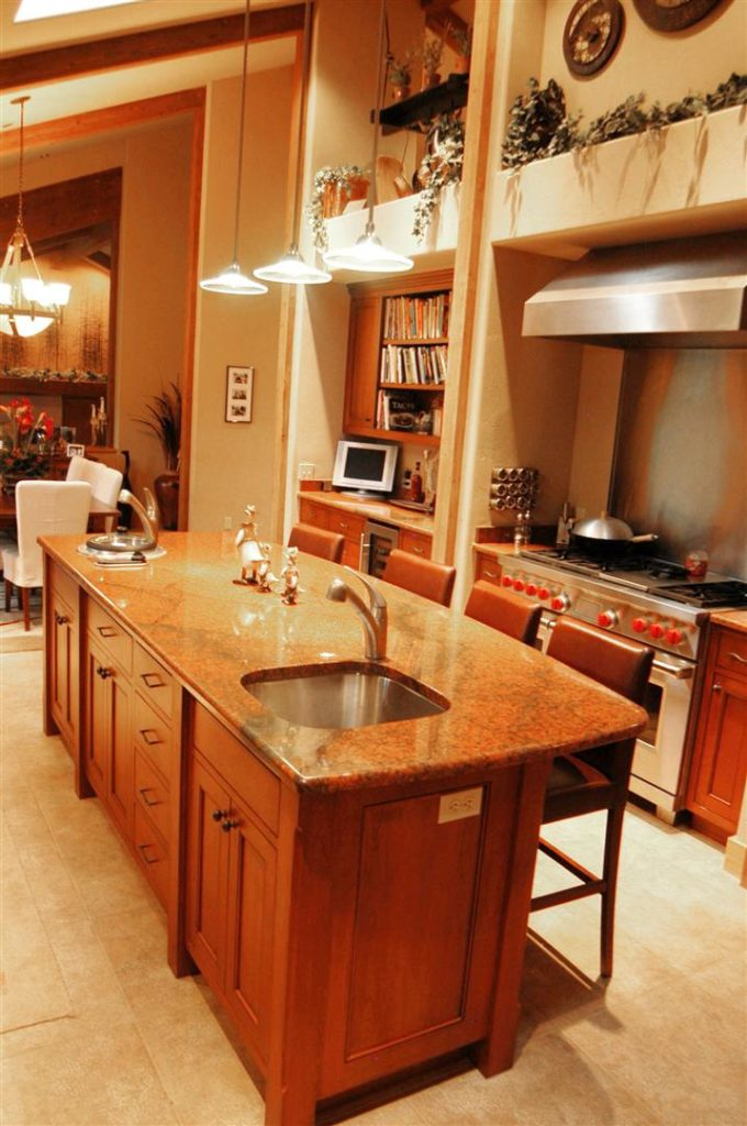 Contemporary Kitchen - Cherry 2