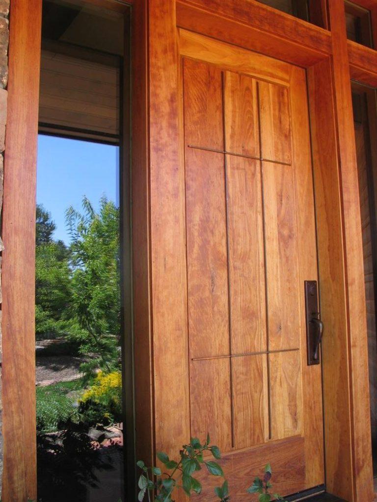 custom-entry door