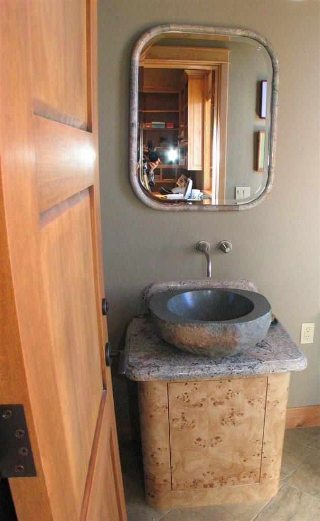 Office Lav Granite Bowl